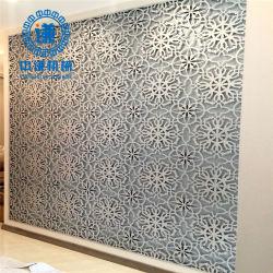 Corte láser decorativa cubierta metálica perforada de aluminio paneles de revestimiento de pared
