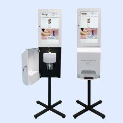 3000ml 500ml手のSanitizerの石鹸ディスペンサーのために表示画面のデジタル表記および表示を広告すること