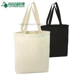 Bolsos de totalizador reutilizables promocionales de la lona del algodón de la alta calidad W/Gusset