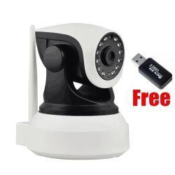 P2p IP van de Veiligheid van kabeltelevisie de Draadloze Pan/de Schuine stand van het Huis van de Camera