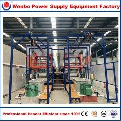 めっきの錫、ニッケルのためのリンイーWenboの電気めっきの生産ラインか装置またはプラントまたは機械、亜鉛