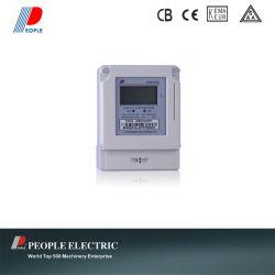 Kilowatt heure mètre (DDSY858 monophasé prépayé électronique Watt-heure compteur)