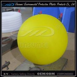 LED de bolas de plástico amarelo Wfor Iluminação de decoração do natal
