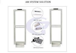 58Кгц Am системы защиты от краж EAS антенна счетчик расхода охранной системы статистических данных ворота