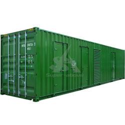 1500kw insonorizadas resistente al agua en el contenedor del generador de MTU