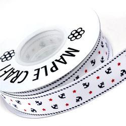 Produit de haute qualité polyester imprimé ruban Grosgrain personnalisé