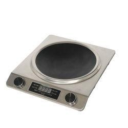220V黒いカウンタートップバーナーの電気デジタルの誘導の炊事道具