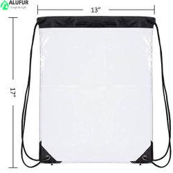 Водонепроницаемый Clear ПВХ кулиской аксессуар рюкзак сумки сумки