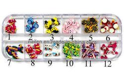 釘の芸術、釘の装飾、陶磁器の花、陶磁器動物デザイン釘