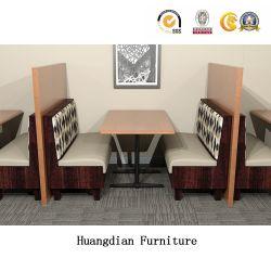 セットされる現代顧客用レストランの家具ブース座席および表(HD1663)