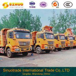 Usado Shacman Caminhão Basculante 10 rodas 6X4 em segunda mão Dumper M3000 de caminhões de carga capotamento da máquina Máquina 30 Toneladas