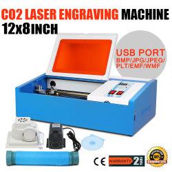 40W CO2 лазерная гравировка машины для принятия решений штампа