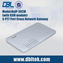 De radio Gateway van VoIP van het SLOKJE van het dwars-Netwerk (roIP-302M)