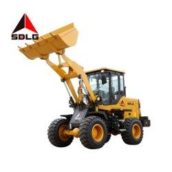 Sdlg 1.6t LG916の農場および都市構築のためのコンパクトなフロント・エンド車輪のローダー