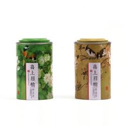 Упаковка моды подарок Тин ящики Китая стиле больших размеров чай сахар Cute Bird ящиков для хранения на кухне герметичной Тин случаев