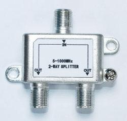 Kabel-TV splitters/CATV splitter/kabel-televisie splitters/2-weg indoor splitter