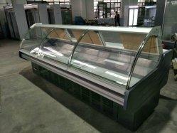 De VoorSupermarkt van uitstekende kwaliteit Refriger van de Vertoning van het Vlees van het Venster/de Diepvriezer van het Vlees