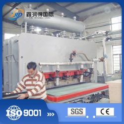 合板の短いサイクルの積層物の熱い出版物機械