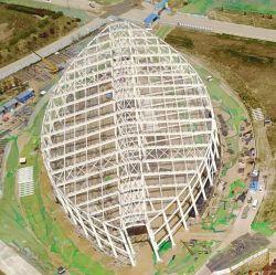 Stahlkonstruktion Dome für Sportstadion