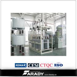 Compensation de puissance réactive/régulateur de tension de réaction automatique