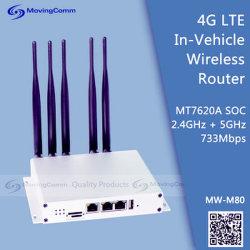 Два диапазона Lte 4G автомобиль беспроводной маршрутизатор и маршрутизатор WiFi для коммерческого применения