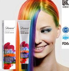 Не аллергические волос на основе красителя, свободной от аллергии у поставщика цвет волос крем для использования в салоне красоты