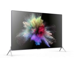 4K 65 75 85 인치 지능적인 디지털 평면 화면 UHD 칼라 텔레비전 LED 텔레비젼
