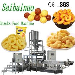 Os chips de milho automática Puff Snacks Extrusor alimentar