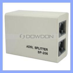 ADSL Linha rj11 Modem DSL Conversor Adaptador do Filtro divisor do telefone Ficha Sp-206