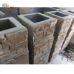 Piscine de l'Ardoise Pierre pilier carré pour la construction