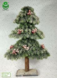 0.6-1.2m PE искусственные елки для украшения - Rectwood в 3 слоя с фруктами