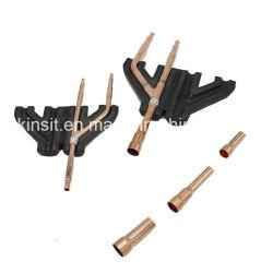 Le cuivre se disperser tube / Mcquay Refnet pour tuyau de direction