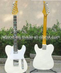 L'Ormeau Incrustation couleur blanc Tele guitare électrique