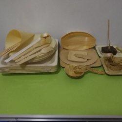 Sac de papier individuellement de l'OPP Pack cuillère Spork Fourche de couteau de la Coutellerie de vaisselle récipient alimentaire