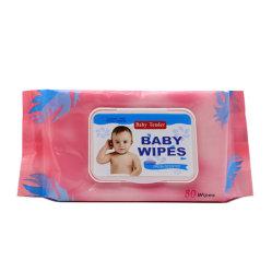 Non-Woven sin alcohol cremas toallitas de bebé