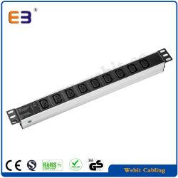 9-Polige IEC C13-Steckdose Netzwerkschrank Verwendete PDU-Buchse