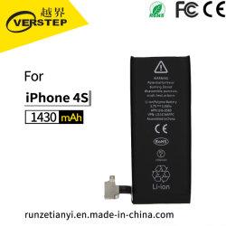 iPhone 4Sのための元の新しいリチウムポリマー携帯電話電池