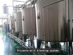 Serbatoio di mescolamento del latte sanitario dell'acciaio inossidabile 1000L dell'alimento