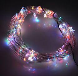La decoración de la cuerda de alambre de cobre flexible con 16m, 50LEDs Indoor Outdoor