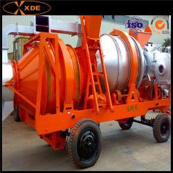 Usine d'asphalte de 15 tonnes/heure Mini Mobile de mélange de bitume Hot Mix Asphalt usine de mélange pour la construction de routes