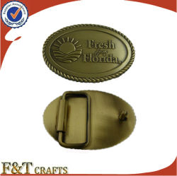 製造業者の顧客用ロゴの記念品の金属のベルトの留め金(FTBB2801A)