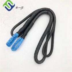 """3/8"""" синего цвета UHMWPE Pendents трос с крышкой черного цвета"""