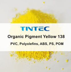Organic Yellow Colorant pigment 138 (PVC, polyoléfines, ABS, PS, POM)