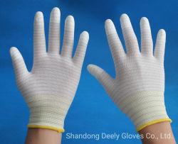 Antiestáticos estilo U3 de fibra de carbono sin costuras Guantes de revestimiento de los dedos