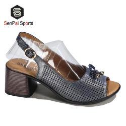 2020 moda Popular Sandalia de tacón de cuña alta Dama zapatillas