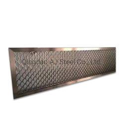 熱い販売パターンはエレベーターのドアのための304のカラーInoxのステンレス鋼を設計した