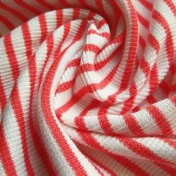 Tissu du vêtement Rib Jersey Tissu Tissu haut tee vêtement Textiles Vêtement Kidswear