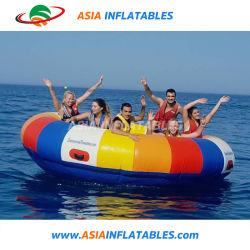 Barca gonfiabile trainabile di galleggiamento gonfiabile della discoteca del UFO del giocattolo dell'acqua