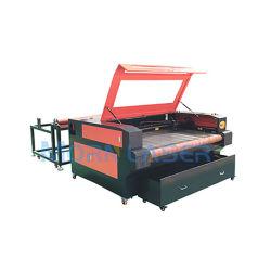 Cloth / Toys / Home Textile tissu Automatique Machine de découpe laser 1610