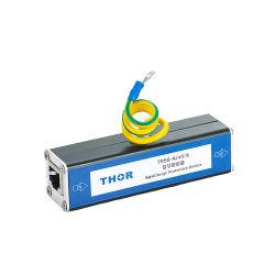 Protector contra sobretensão de poe de protecção do equipamento de rede Ethernet de raios de protecção